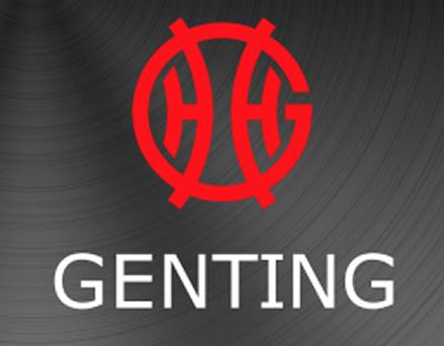 genting casino logo red white grey